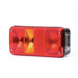 LED 12V/12Led Ba15s bílá